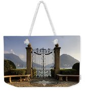The Gateway To Lago Di Lugano Weekender Tote Bag