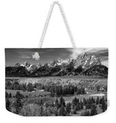 The Grand Tetons And The Snake River Weekender Tote Bag