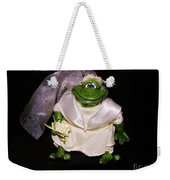 The Green Bride Weekender Tote Bag