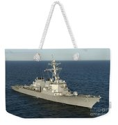 The Guided-missile Destroyer Uss Laboon Weekender Tote Bag
