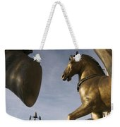 The Horses On The Basilica San Marcos Weekender Tote Bag