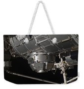 The International Space Stations Weekender Tote Bag by Stocktrek Images
