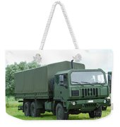 The Iveco M250 8 Ton Truck Weekender Tote Bag by Luc De Jaeger