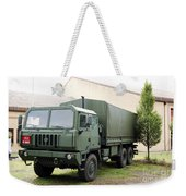 The Iveco M250 8 Ton Truck Used Weekender Tote Bag