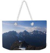 The Jagged Tops Of High Mountain Peaks Weekender Tote Bag