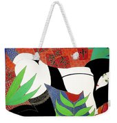 The Last Erotic Geisha Weekender Tote Bag