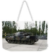 The Leopard 1a5 Of The Belgian Army Weekender Tote Bag