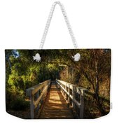 The Little White Bridge II  Weekender Tote Bag