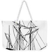 The Mayflower Weekender Tote Bag