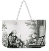 The Mozart Family On Tour, 1763 Weekender Tote Bag