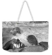 The Photographer On Location Weekender Tote Bag