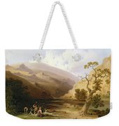 The Pioneers Weekender Tote Bag by Joshua Shaw