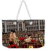 The Royal Nude Wedding Weekender Tote Bag by Karen Elzinga