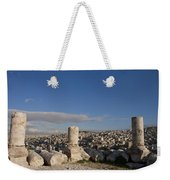 The Ruins Of The Ancient Citadel, Or Weekender Tote Bag