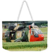 The Sea King Helicopter Of The Belgian Weekender Tote Bag by Luc De Jaeger