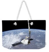The Spacex Dragon Cargo Craft Weekender Tote Bag