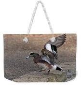American Wigeon Waterfowl Weekender Tote Bag