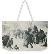 The Underground Railroad Weekender Tote Bag by Photo Researchers