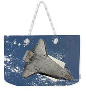 The Underside Of Space Shuttle Weekender Tote Bag