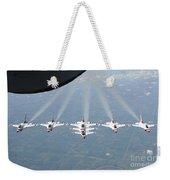 The U.s. Air Force Thunderbird Weekender Tote Bag