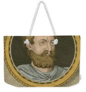 Theophrastus, Ancient Greek Polymath Weekender Tote Bag by Science Source