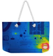 Thermogram Of A Computer Board Weekender Tote Bag