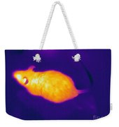 Thermogram Of A Mouse Weekender Tote Bag