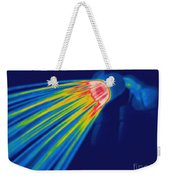Thermogram Of A Shower Head Weekender Tote Bag by Ted Kinsman