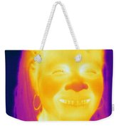 Thermogram Of A Woman Weekender Tote Bag