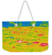 Thermogram Of Cars In A Parking Lot Weekender Tote Bag