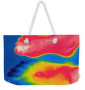 Thermogram Of Circulation In Feet Weekender Tote Bag