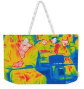 Thermogram Of Students In A Lecture Weekender Tote Bag