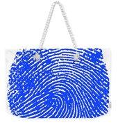Thumbprint Weekender Tote Bag