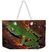 Tiger-striped Monkey Frog Weekender Tote Bag