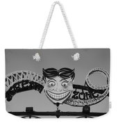 Tillie's Scream Zone In Black And White Weekender Tote Bag