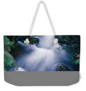Time Lapse Of Taggerty River Flow Weekender Tote Bag
