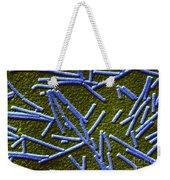 Tobacco Mosaic Virus Weekender Tote Bag by Omikron