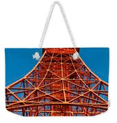Tokyo Tower Faces Blue Sky Weekender Tote Bag by Ulrich Schade