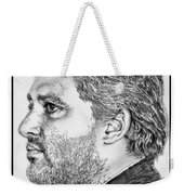 Tony Stewart In 2011 Weekender Tote Bag by J McCombie