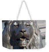 Trafalgar Square Lion Weekender Tote Bag