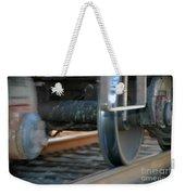 Train Tires Weekender Tote Bag