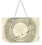 Transit Of Venus, 1761 Weekender Tote Bag by Science Source