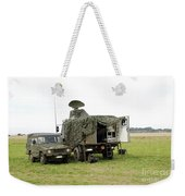 Transmission Troops Of The Belgian Army Weekender Tote Bag