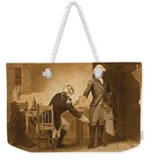 Treason Of Benedict Arnold, 1780 Weekender Tote Bag by Photo Researchers