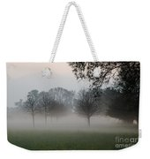 Trees And Fog Weekender Tote Bag