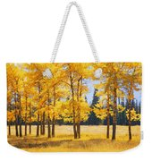 Trees In Autumn Weekender Tote Bag