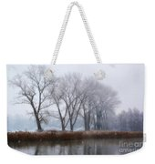 Trees On The Lake Front Weekender Tote Bag
