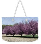 Trees On Warwick Weekender Tote Bag by Trish Tritz