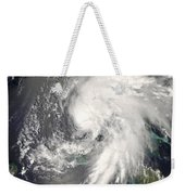 Tropical Storm Fay Weekender Tote Bag