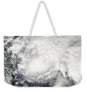 Tropical Storm Ida In The Caribbean Sea Weekender Tote Bag